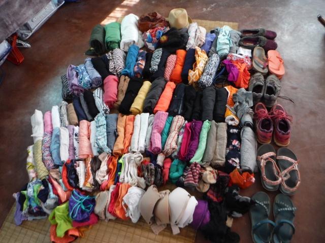 Organized clothing
